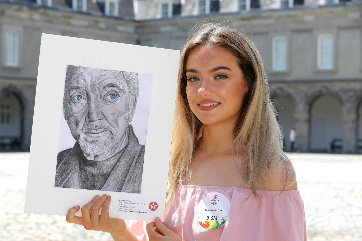 Texaco Childrens Art Awards Ceremony